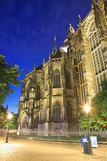 Aachen Cathedral at Night