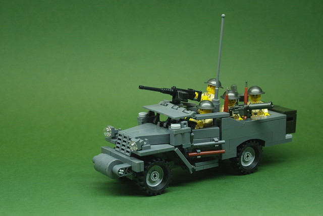 M3A1 Scout Car - US Army - Early War (1)