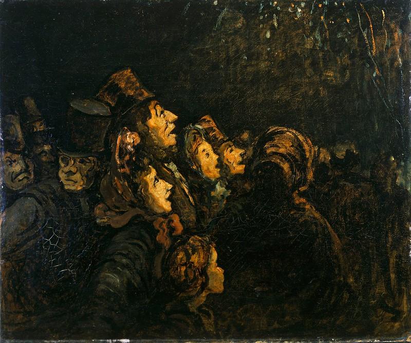 Honoré Daumier - The Rockets
