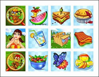 free Small Fortune slot game symbols