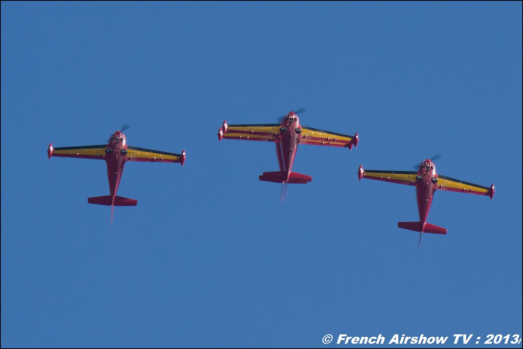 Red Devils ,60 ans Patrouille de France , Meeting Aerien 2013