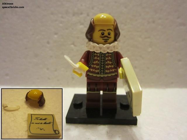 Minfig série 12 William shakespeare p3
