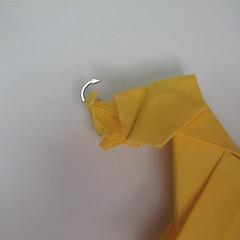 สอนวิธีพับกระดาษเป็นรูปลูกสุนัขยืนสองขา แบบของพอล ฟราสโก้ (Down Boy Dog Origami) 103