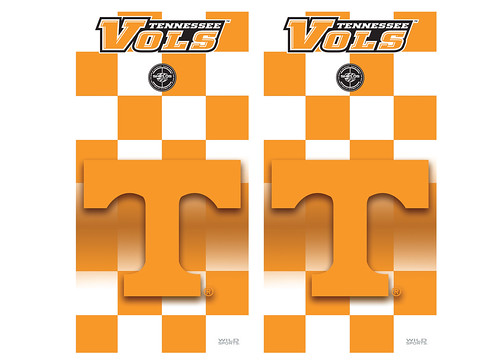 Tennessee Cornhole Game Decal Set