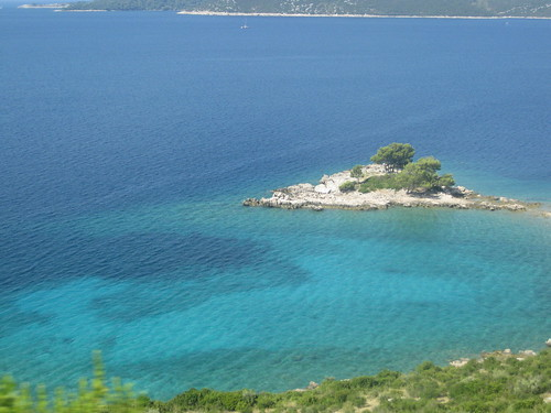 The view from the bus, Croatia