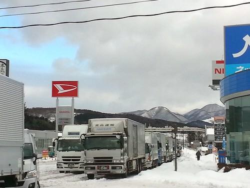 援人号 0214便 南相馬行き(記録的な大雪)