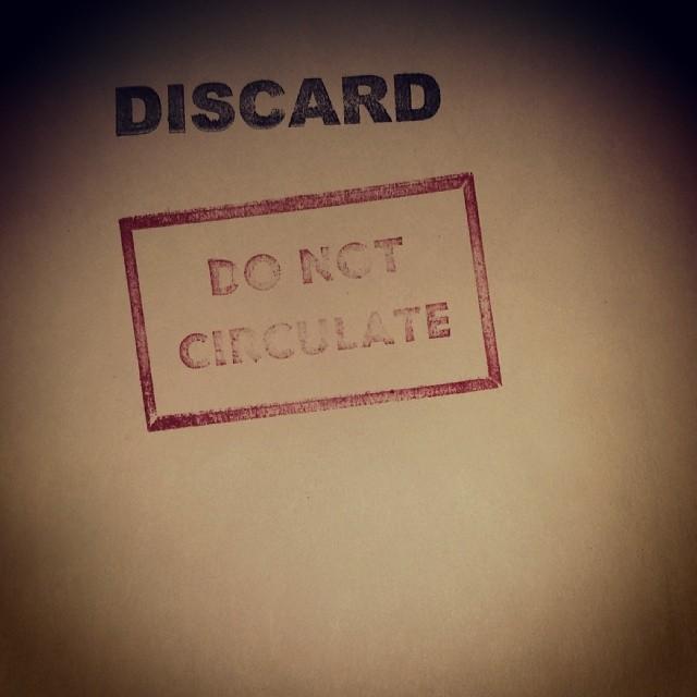 #discard