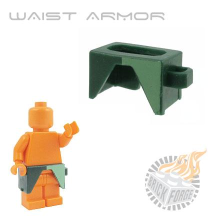 Waist Armor - Dark Green (sand green half print)
