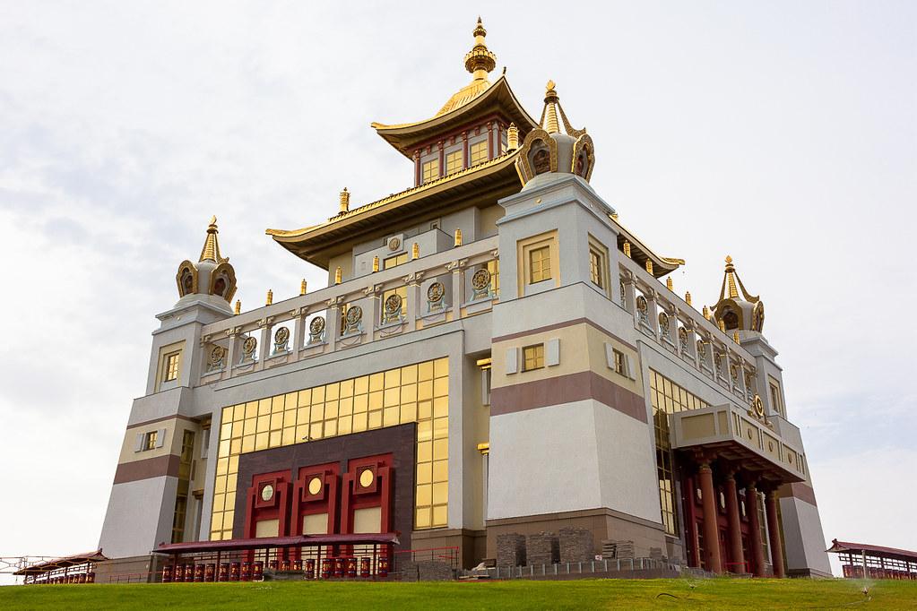 Russia. 13.06.2009 Elista. The Golden Abode of the Buddha Shakyamuni-003