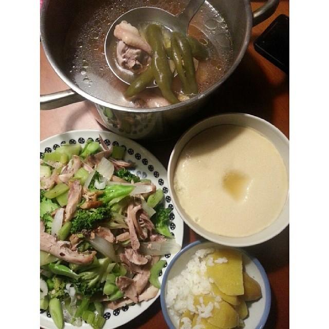 20140327 今日晚餐  #葛蘿的餐桌
