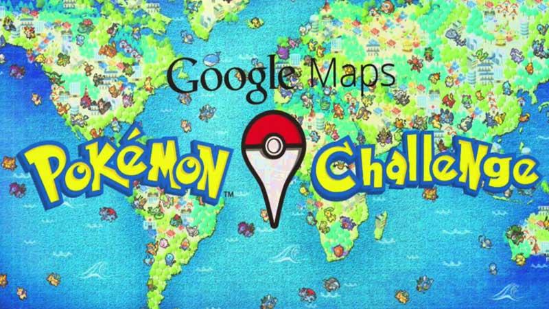 Google Mengajakmu untuk Menjadi Master Pokemon Menggunakan Google Maps
