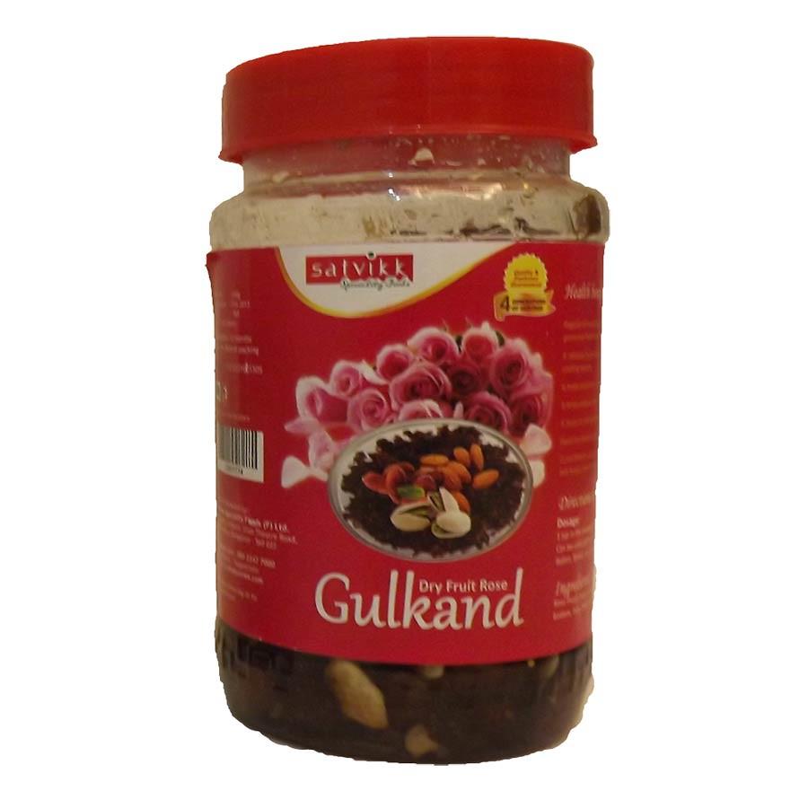 Satvikk Premium Dry Fruit Gulkand 250 Gm