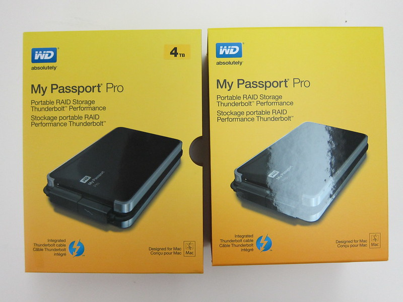 Western Digital My Passport Pro - Box Internal