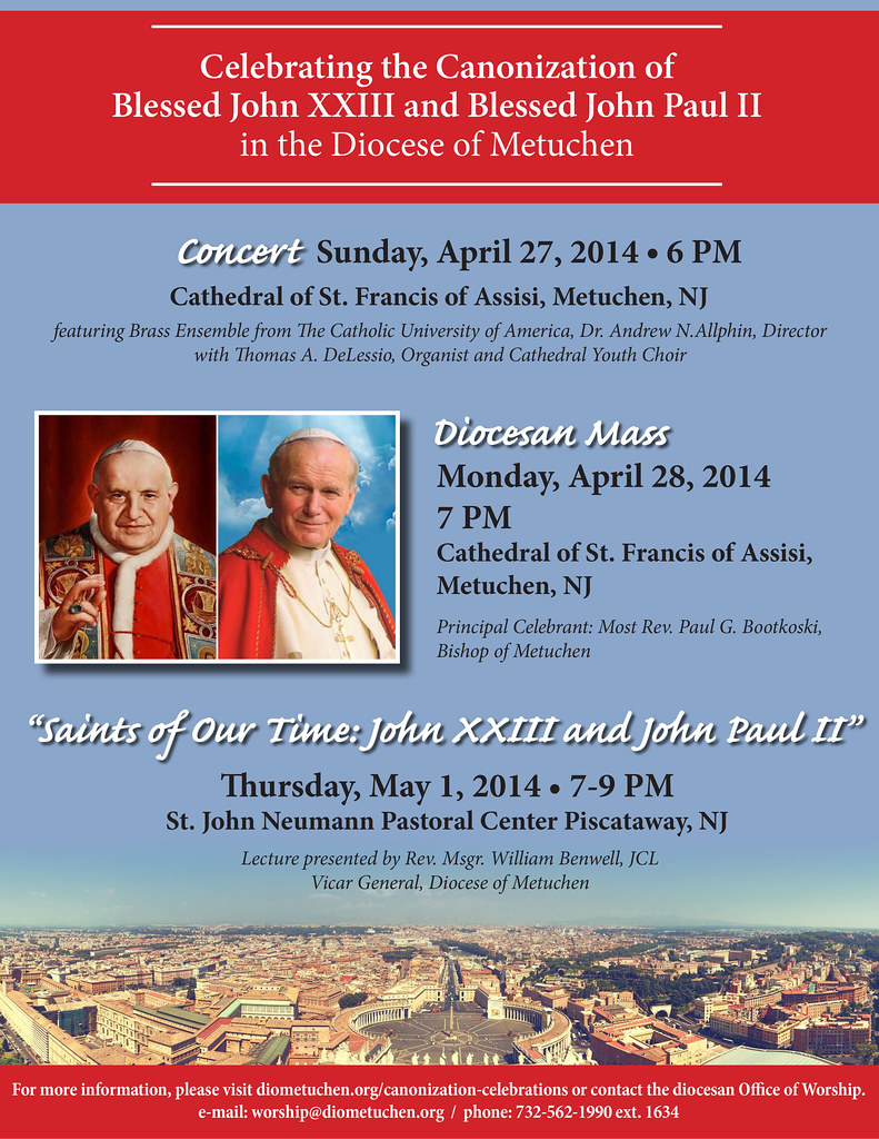 Canonization-events-4.14