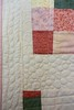 """Thrift Shop Rose"" Quilt- quilting detail"