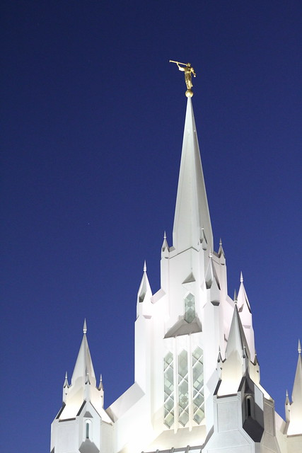 San Diego temple by replicate then deviate