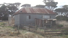 Old farmhouse at Emu Bay Lavender Farm, Kangaroo Island