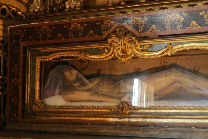 jesus icon church of santa maria