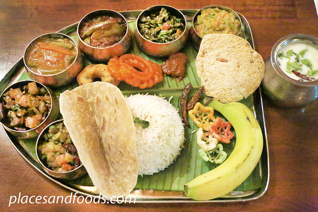 passage to india South Indian Thali
