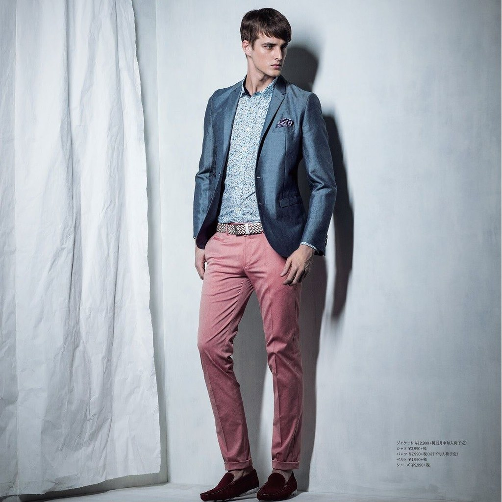 James Smith0191_m.f.editorial Men's Spring Collection 2014