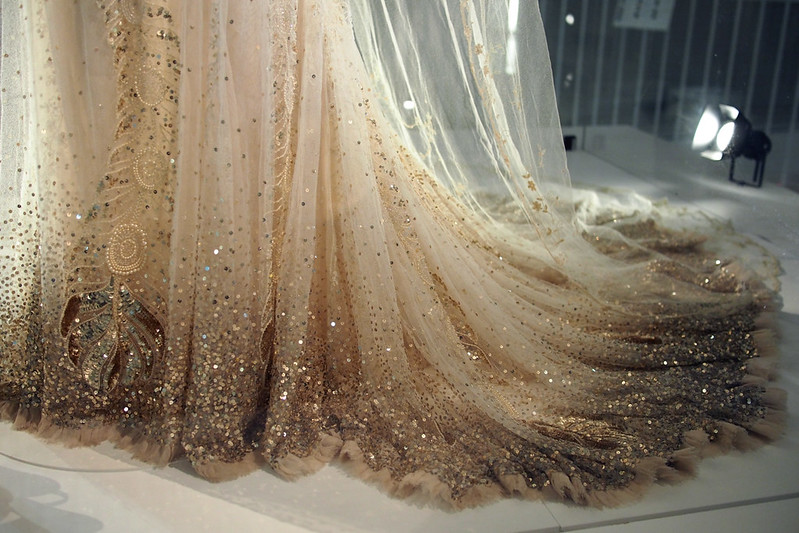 Wedding dresses at V&A