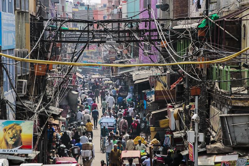 Calles del Chandni Chowk