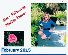 I am honored to have been voted the Pretty T-girls Miss February Calendar Girl