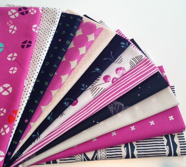 A beautiful bundle from Fabric Spark - give away on my blog today