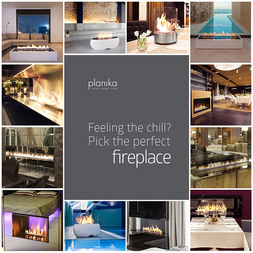 Planika's fireplaces