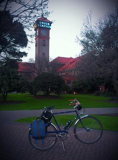 The Raleigh Wayfarer down at Portland Union Station.
