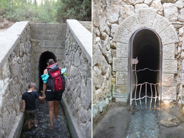 Rhodos_Epta Piges_04_Tunnel