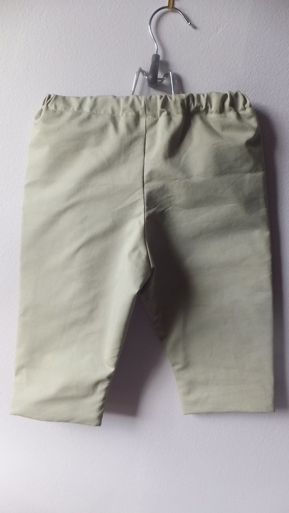 pants O khakis DJ flannel lining s5164 size L 18 mos