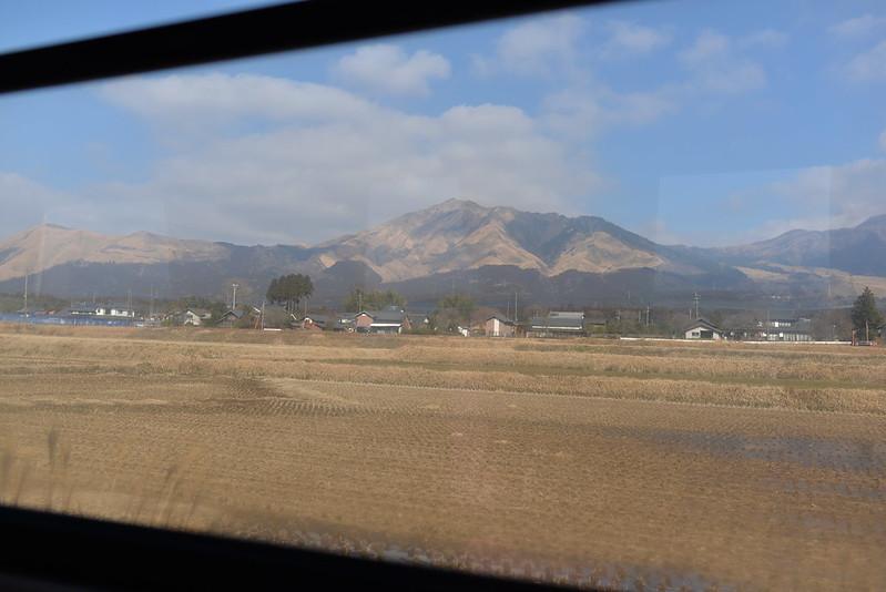 くまもと鉄分補給日記 鉄道で旅する熊本県 初日 阿蘇 2014年1月24日