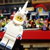 I'm no unicorn lover but this unicorn costume wearing minifigure is a current fave from the Lego CMS 13. Sheer cuteness. #lego #minigiures #series13 #cms13 #toys #instatoys