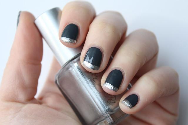 Gray & Silver Nail Art | #LivingAfterMidnite