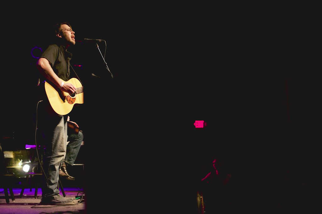 Jack Hotel's Günter Voelker and Joe Salvati at The Bourbon Theater - Take Cover | Jan. 30, 2015