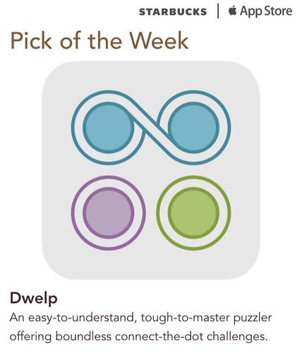 Starbucks iTunes Pick of the Week - Dwelp