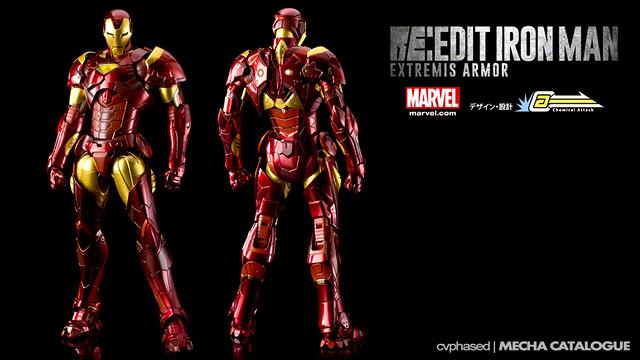RE:EDIT IRON MAN Extremis Armor