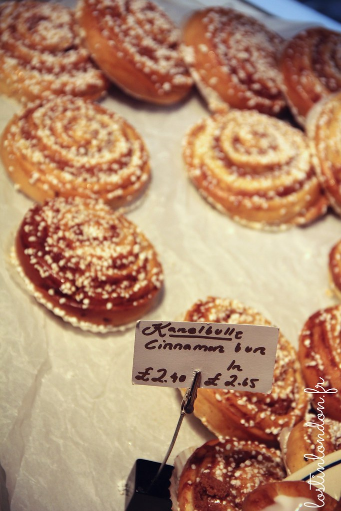 bageriet Kanelbullar swedish bakery london