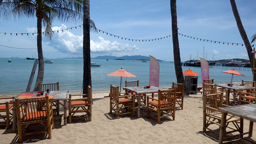Koh Samui Beach Cafe Lunch