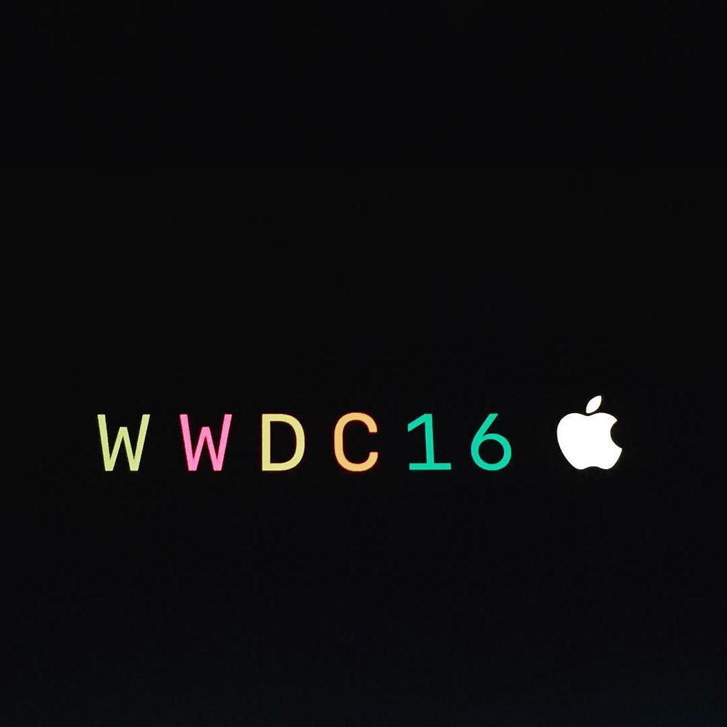 Waiting for the design awards to begin. #WWDC2016
