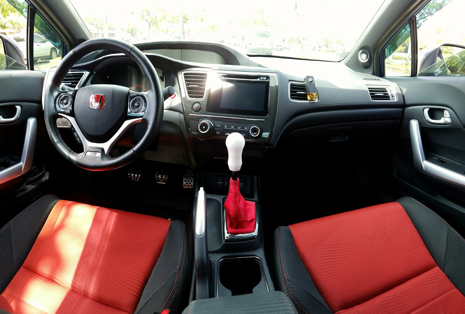 Interior 2015 Civic Si By Zrksi, On Flickr