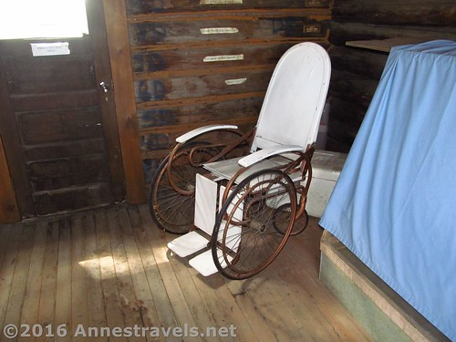 museum antique wheelchair wyoming medicinebow