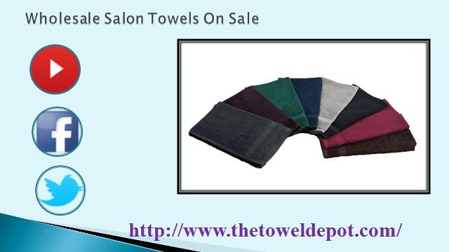 Bleach Resistant Salon Towels On Sale - Thetoweldepot