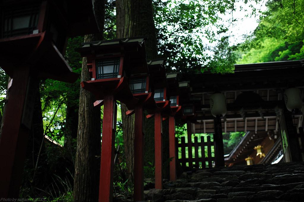 貴船神社灯篭