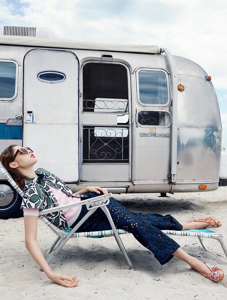 Анаис Пульо — Фотосессия для «Elle» FR 2016 – 7