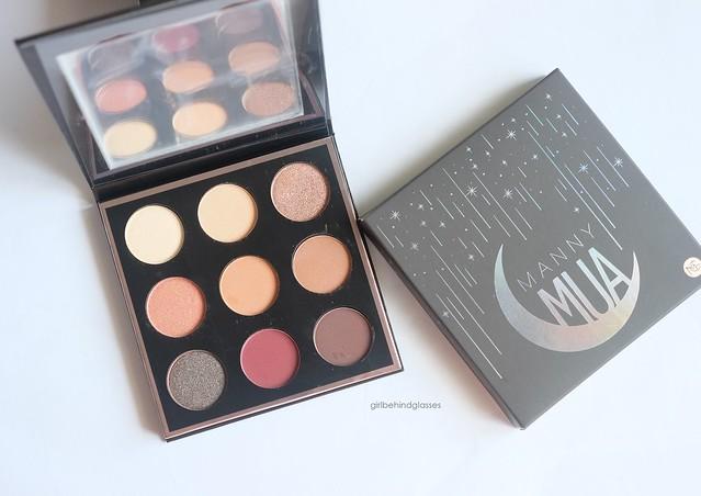 MannyMUA x MakeupGeek palette