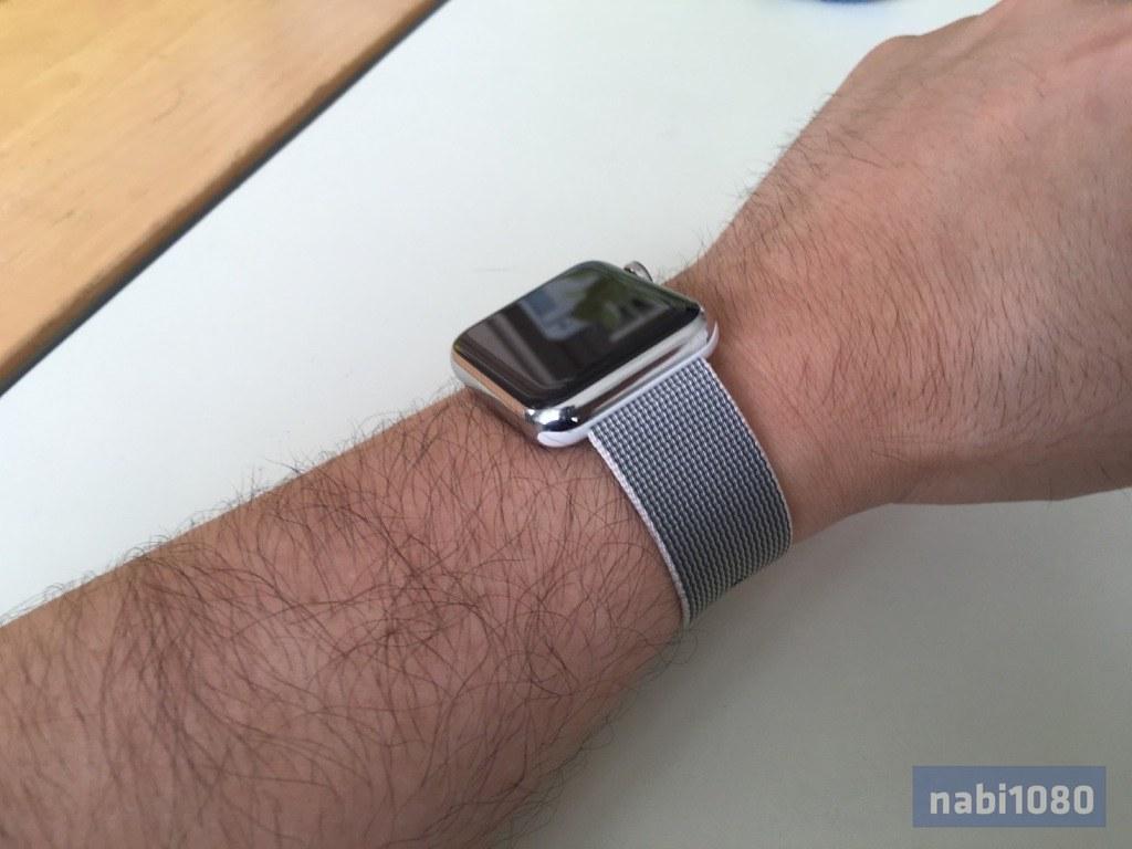 Apple Watch ウーブンナイロンバンド21
