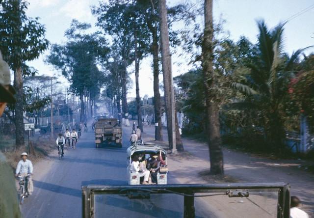 SAIGON 1966 - Đường Võ Tánh, nay là Hoàng Văn Thụ
