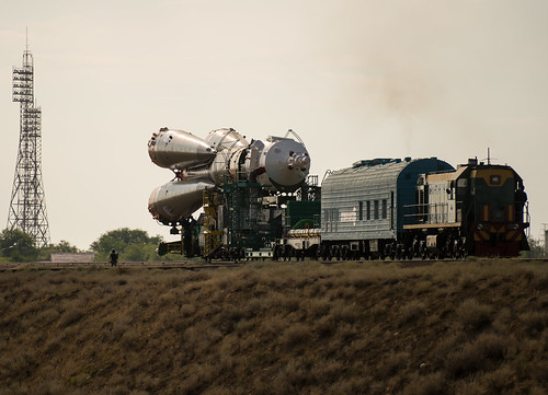 nasa kazakhstan kaz baikonur baikonurcosmodrome billingalls soyuzrocket expedition48 expedition48preflight soyuzms01